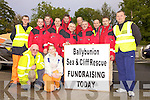 Members of the Ballybunion Sea & Cliff Rescue Team getting ready for   a boat push from Abbeyfeale to Ballybunion last Saturday. .F L-R, Willie Joe Finnuncan, Lorraine Kennedy. B L-R Jonathon Mahoney, PJ O'Gorman, Omar Fitzell, Brian Mannion, Gearoid O'Connor, Jim Enright, John Walsh, Frankie Cannon, Mike Ryan, Mark Enright, Joby Costello.