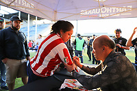 San Jose, CA - Wednesday September 19, 2018: Mexican Heritage Night prior to a Major League Soccer (MLS) match between the San Jose Earthquakes and Atlanta United FC at Avaya Stadium.