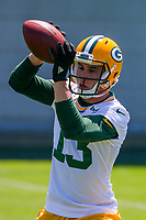 Green Bay Packers wide receiver Max McCaffrey (13) during an OTA on June 1, 2017 at Clark Hinkle Field in Green Bay, Wisconsin. (Brad Krause/Krause Sports Photography)