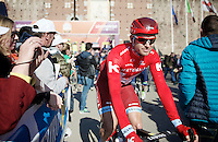 Alexander Kristoff (NOR/Katusha) to the start<br /> <br /> 107th Milano-Sanremo 2016