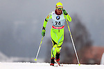 Barbara Jezersek in action during the Women 5 km Classic Individual in Val Di Fiemme<br /> <br /> &copy; Pierre Teyssot