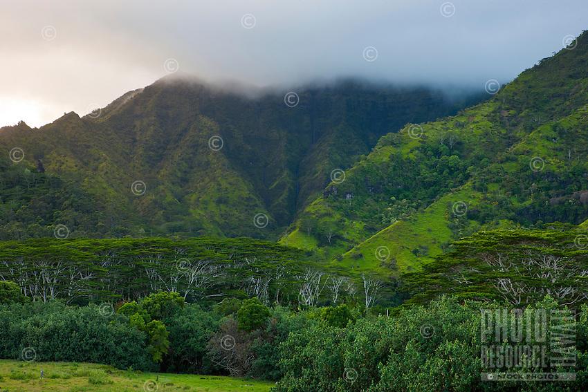 Makaleha Mountain on Kauai's east side