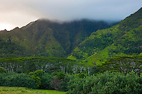 Makaleha Mountain on Kauai's east side