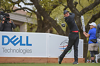 Rory McIlroy (NIR) watches his tee shot on 1 during day 3 of the World Golf Championships, Dell Match Play, Austin Country Club, Austin, Texas. 3/23/2018.<br /> Picture: Golffile | Ken Murray<br /> <br /> <br /> All photo usage must carry mandatory copyright credit (&copy; Golffile | Ken Murray)