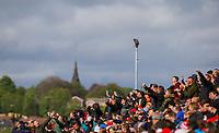 Barnsley fans celebrate going 2-1 up<br /> <br /> Photographer Alex Dodd/CameraSport<br /> <br /> The EFL Sky Bet League One - Barnsley v Blackpool - Saturday 27th April 2019 - Oakwell - Barnsley<br /> <br /> World Copyright © 2019 CameraSport. All rights reserved. 43 Linden Ave. Countesthorpe. Leicester. England. LE8 5PG - Tel: +44 (0) 116 277 4147 - admin@camerasport.com - www.camerasport.com