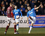 Lee McCulloch hoofs the ball upfield