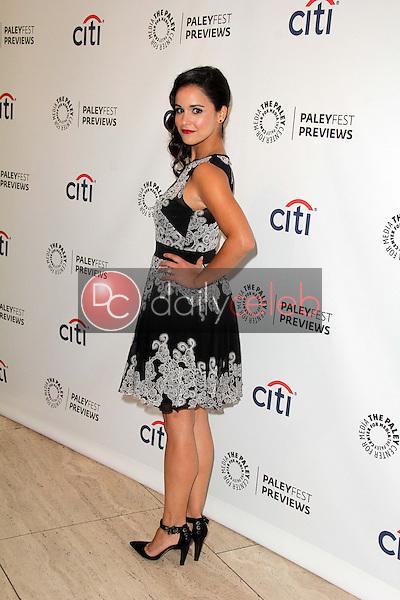 Melissa Fumero<br /> at PaleyFest Previews: Fall TV with FOX Brooklyn Nine-Nine, Paley Center for Media, Beverly Hills, CA 09-09-13<br /> David Edwards/DailyCeleb.com 818-249-4998