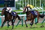 TAKARAZUKA,JAPAN-JUNE 24: Mikki Rocket #4,ridden by Ryuji Wada,wins the Takarazuka Kinen at Hanshin Racecourse on June 24,2018 in Takarazuka,Hyogo,Japan (Photo by Kaz Ishida/Eclipse Sportswire/Getty Images)