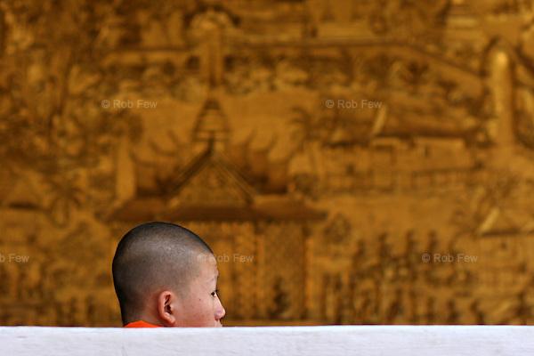 Monk. Luang Prabang.