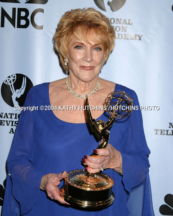©2004 KATHY HUTCHINS /HUTCHINS PHOTO.DAYTIME EMMYS.NEW YORK CITY, NY.MAY 21, 2004\..JEANNE COOPER.