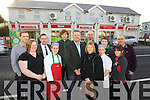 Owners Louis Byrne and Collette O'Sullivan with the team from Byrnes Spar, Caherslee..From left Leigh Hewerdine, (Fresh Food Manager) Julianne Fitzgerald, General Manager, Anthon Russell, Alison Murray,.Gavin Murphy, Liam Browne, Jenna Sloan, Cian Foley, Siobhan Gannon and John Hickey.