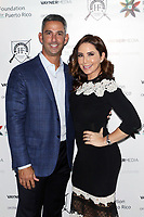 NEW YORK, NY - NOVEMBER 12: Jorge Posada and Laura Posada pictured at Prayers For Puerto Rico Celebrity Fundraiser supporting The Foundation For Puerto Rico Hosted by Orchid Worldwide and VaynerMedia at The Hunt & Fish Club in New York City on November 12, 2017. Credit: Diego Corredor/MediaPunch /NortePhoto.com