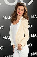 ATENCAO EDITOR IMAGEM EMBARGADA PARA VEICULOS INTERNACIOANAIS - COLETIVA MIRANDA KERR - A modelo australiana Miranda Kerr durante coletiva de imprensa sobre nova campanha publicitaria para a grife Mango no Hotel Villamagna em Madri, capital da espanha, nesta terca-feira, 11. (FOTO: MIGUEL CORODOBA / ALFAQUI / BRAZIL PHOTO PRESS).