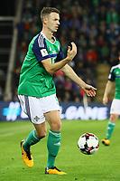 Jonny Evans (Nordirland, Northern Ireland) - 05.10.2017: Nordirland vs. Deutschland, WM-Qualifikation Spiel 9, Windsor Park Belfast