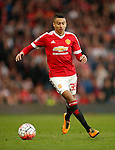 Jesse Lingard of Manchester United during the Emirates FA Cup match at Old Trafford. Photo credit should read: Philip Oldham/Sportimage