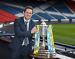 William Hill Scottish Cup 5th Round draw. Hampden Park: Ross Gilpin, Spartans FC