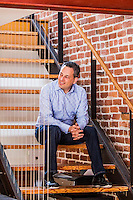 David Sacks pictures: executive portrait photography of David Sacks, Yammer CEO, by San Francisco corporate photographer Eric Millette