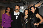 """Sharon Washington - Sebastian La Cause - Daphne Rubin-Vega - Jessica Press at a private screening of Sebastian La Cause's web series """"Hustling"""" Season Two - 'cause everybody got a hustle -  was held on November 19, 2012 at TriBeca's Cinemas, New York City, New York. Days of our Lives """"Silvio"""", One Live To Live and All My Children's Sebastian is the creator of Hustling along with being the writer, director and star (Photo by Sue Coflin/Max Photos)"""