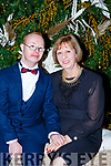 John Paul and Della   at the Kerry Stars ball in the Malton Hotel on Saturday night