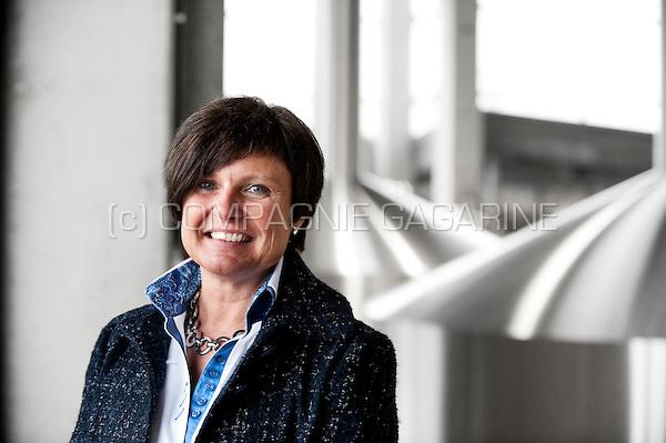 Veerle Baert-Moortgat, director of Duvel Moortgat NV brewery (Breendonk, 18/03/2011)
