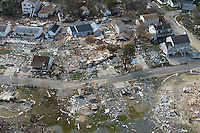 11/1/12 - Aftermath of  Hurricane Sandy in New Jersey.   Property damage in Union Beach area next to Raritan Bay, just past the Driscoll Bridge.   Danielle Richards / Jersey Girl Stock Images