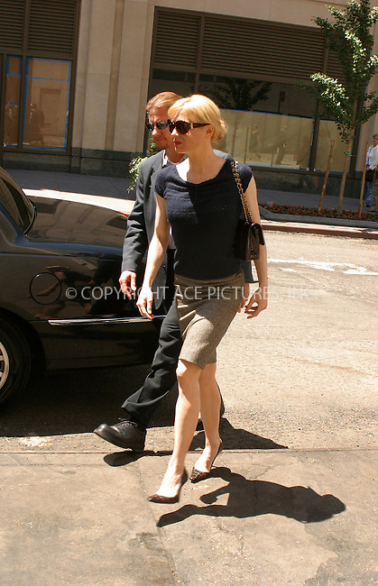WWW.ACEPIXS.COM . . . . .  ....NEW YORK, MAY 31, 2005....Renee Zellweger takes her leave from an appearance on Live with Regis and Kelly. Her black SUV then heads to the midtown showroom of Carolina Herrera. She disappears shortly and returns with a nice bag from Carolina Herrera. On the way to her SUV she receives some attention from sailors in town for fleet week. Another SUV ride and she heads to lunch at Shun Lee. ....Please byline: PAUL CUNNINGHAM - ACE PICTURES.... *** ***..Ace Pictures, Inc:  ..Craig Ashby (212) 243-8787..e-mail: picturedesk@acepixs.com..web: http://www.acepixs.com