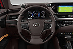 Car pictures of steering wheel view of a 2019 Lexus ES 300h-Privilege-Line 4 Door Sedan Steering Wheel