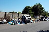 Roma, 23 Giugno 2019<br /> Via Tiratelli, tor Sapienza.<br /> Rifiuti in strada,emergenza