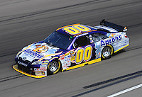 Feb. 27, 2009; Las Vegas, NV, USA; NASCAR Sprint Cup Series driver David Reutimann during practice for the Shelby 427 at Las Vegas Motor Speedway. Mandatory Credit: Mark J. Rebilas-