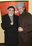 George Morfogen & F. Murray Abraham attending the Opening After Party for the Classic Stage Theatre Company production of UNCLE VANYA at Pangea Restaurant in New York City. February 12, 2009