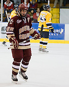 Matt Price (BC - 25) - The Merrimack College Warriors defeated the Boston College Eagles 5-3 on Sunday, November 1, 2009, at Lawler Arena in North Andover, Massachusetts splitting the weekend series.