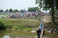 The view up the 10th hole at Valhalla during the opening round of the US PGA Championship at Valhalla (Photo: Anthony Powter) Picture: Anthony Powter / www.golffile.ie