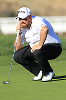 Shane Lowry (IRL) on the 4th green at Pebble Beach course during Friday's Round 2 of the 2018 AT&amp;T Pebble Beach Pro-Am, held over 3 courses Pebble Beach, Spyglass Hill and Monterey, California, USA. 9th February 2018.<br /> Picture: Eoin Clarke | Golffile<br /> <br /> <br /> All photos usage must carry mandatory copyright credit (&copy; Golffile | Eoin Clarke)
