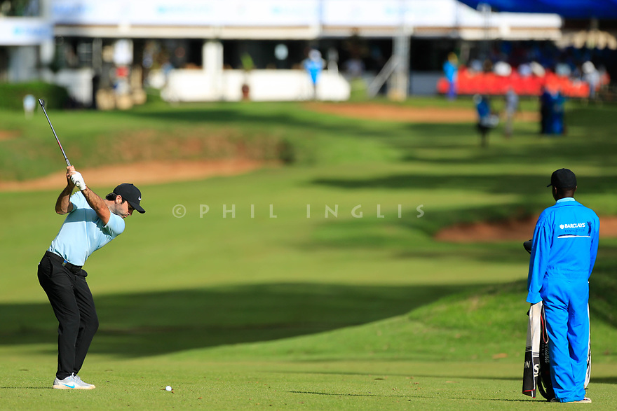 Jo&euml;l Stalter (FRA) during the second round of the Barclays Kenya Open played at Muthaiga Golf Club, Nairobi, Kenya 22nd - 25th March 2018 (Picture Credit / Phil Inglis) 22/03/2018<br /> <br /> <br /> All photo usage must carry mandatory copyright credit (&copy; Golffile | Phil Inglis)