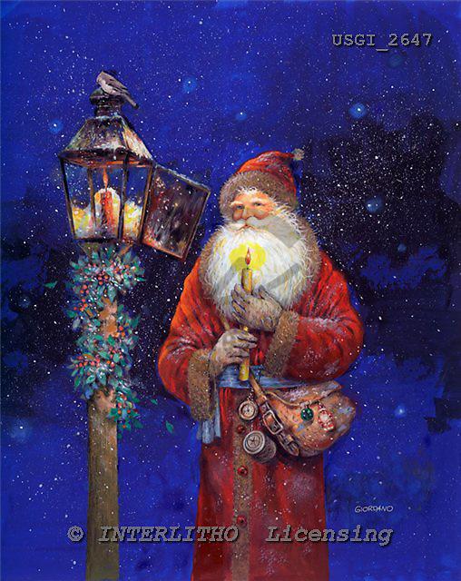 GIORDANO, CHRISTMAS SANTA, SNOWMAN, WEIHNACHTSMÄNNER, SCHNEEMÄNNER, PAPÁ NOEL, MUÑECOS DE NIEVE, nostalgic, paintings+++++,USGI2647,#X# nostalgic,vintage