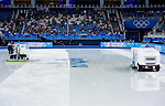 Skater competes during Figure Skating Men's Short Program of the 2014 Sochi Olympic Winter Games at Iceberg Skating Palace on February 12, 2014 in Sochi, Russia. Photo by Victor Fraile / Power Sport Images