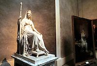 - National Gallery, statue of empress Luigia Maria of Canova sculptor..- Galleria Nazionale, statua dell'imperatrice Maria Luigia dello scultore Canova