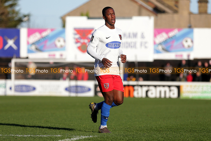 Liam Gordon of Dagenham during Dagenham & Redbridge vs Stockport County, Vanarama National League Football at the Chigwell Construction Stadium on 8th February 2020
