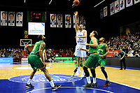 GRONINGEN - Basketbal , Donar - Petrolina AEK, Europe Cup, seizoen 2018-2019, 30-01-2019,  Donar speler Drago Pasalic van afstand