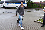 Spainsh Marco Asensio  arriving at the concentration of the spanish national football team in the city of football of Las Rozas in Madrid, Spain. August 28, 2017. (ALTERPHOTOS/Rodrigo Jimenez)