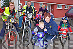REVVING UP: Members of the Mad Motor Cycle Club in Knocknagoshel revving up for the Honda run in the village on January 23rd, front l-r: Padraig, Mary and Daniel Brosnan, Back l-r: Maurice McAuliffe, Tim Brosnan, Noelie Roche, Karen Hickey.