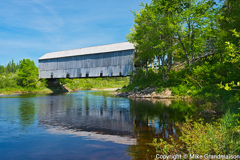 Covered Bridge, St. Martins, New Brunswick, Canada