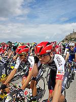 Mont-Saint- Michel-Utah Beach-FRANCIA -COLOMBIA, 02-07-2016.Primera etapa del Tour de Francia entre las poblaciones de Mont-Saint- Michel-Utah Beach./Photo:VizzorImage / Natalia Guerra  / Contribuidora