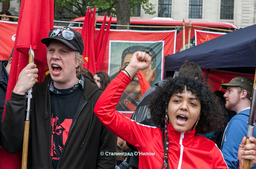 Mayday 2017 Trade Unions and Anti Imperialist Mayday March from Clerkenwell to Trafalgar Square