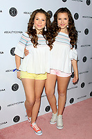 LOS ANGELES - AUG 12:  Chiara D'Ambrosio, Bianca D'Ambrosio at the 5th Annual Beautycon Festival Los Angeles at the Los Angeles Convention Center on August 12, 2017 in Los Angeles, CA