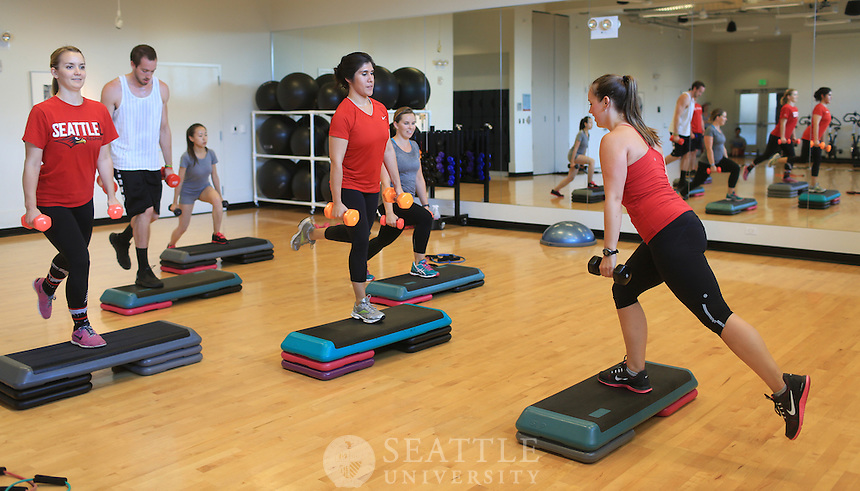 08192014- Seattle University fitness