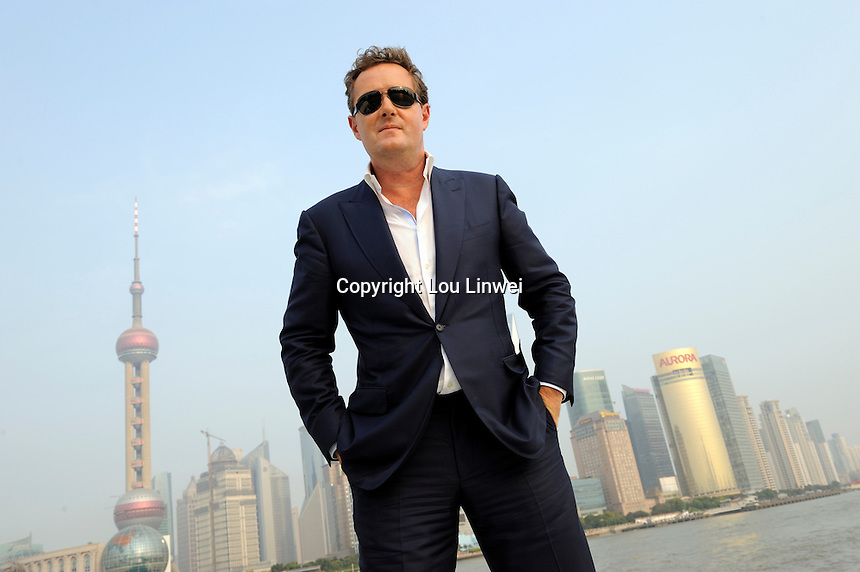 Piers Morgan in Shanghai. Oct-29-2009