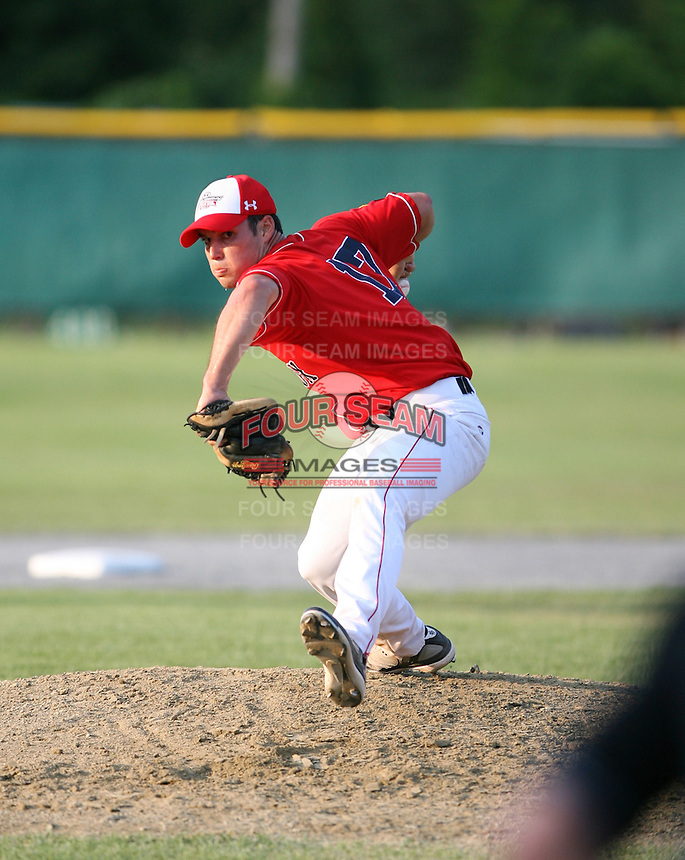 July 28th 2007:  Nick Cassavechia during the Cape Cod League All-Star Game at Spillane Field in Wareham, MA.  Photo by Mike Janes/Four Seam Images