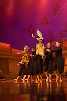 Thai classical puppetry show