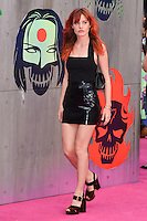 "Georgia May Jagger<br /> arrives for the ""Suicide Squad"" premiere at the Odeon Leicester Square, London.<br /> <br /> <br /> ©Ash Knotek  D3142  03/08/2016"